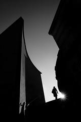 chasing the sun (/ urban.fishing /) Tags: dresden marienbrücke sun stairs human backlight