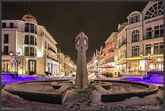 Winter in Binz (Schnitzel_bank) Tags: nachtaufnahme nightphotographie eos60d canon beleuchtung illumination springbrunnen langzeitaufnahme longexposure ostsee balticsea rügen binz