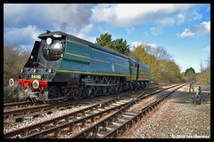 No 34081 92 Squadron 10th March 2019 Nene Valley Railway Southern Steam Gala (Ian Sharman 1963) Tags: no 34081 92 squadron 10th march 2019 nene valley railway southern steam gala class wc bb west country and battle of britian 462 station engine rail railways train trains loco locomotive passenger nvr peterborough wansford yarwell junction heritage line
