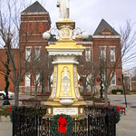 Courthouse Grounds Statue (Christmas 2018) - McMinnville, TN thumbnail