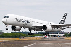 F-WLXV (Andras Regos) Tags: aviation aircraft plane fly airport fab eglf farnborough spotter spotting fia fia2018 airshow flying display airbus a350 a350xwb a35k