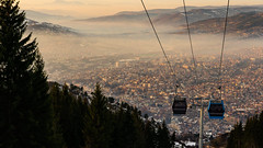 Sarajevo na dlanu (on a plate) (ekidreki) Tags: sarajevo bosnia herzegovina landscape landscapes nature city cities cityscape panorama panoramic cable car view from above sony alpha 7r 7riii sonyalpha a7r3 a7rm3 natural light day 35 35mm 35mm14