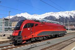 ÖBB 1217 017-4 Railjet Design, Innsbruck Hbf (TaurusES64U4) Tags: 1216 öbb es64u4 taurus