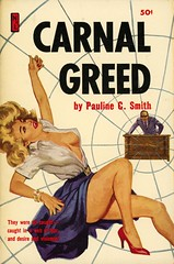Newsstand Library U127 - Pauline C. Smith - Carnal Greed (swallace99) Tags: newsstandlibrary vintage 60s sleaze paperback robertbonfils