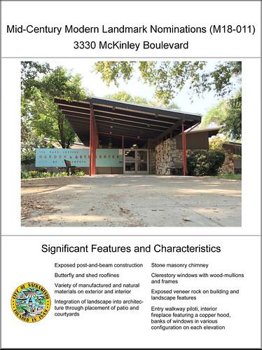 Landmarked: Shepard Garden and Arts Center. 3330 McKinley Boulevard, Sacramento.