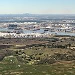 San Jacinto Monument, ITC Deer Park, and Houston Skyline, TX thumbnail