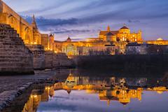 Mezquita de Córdoba (LpuntoQpunto) Tags: atardecer córdoba mezquita sunset bluehour horaazul iglesias iglesia church mosque andalucia spain españa