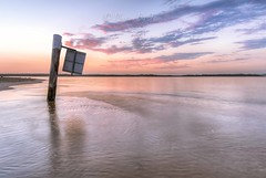 Sunrise from Sans Souci Botany Bay Sydney (600tom) Tags: sand beach composition photography nikon light dawn bay post water clouds mauve pink colourful australia sydney sunrise