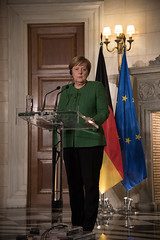 Official visit of the German Chancellor Angela Merkel in Greece, meeting with Prime Minister Alexis Tsipras in Maximos Mansion. In Athens on January 10, 2018 (X-Andra) Tags: alexis angela athens cdu chancellor federal german greece greek merkel minister prime republic syriza tsipras visit emotion expression face gesture official centralgreece gr
