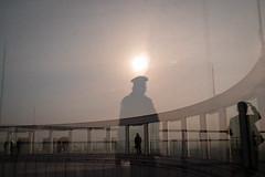 * (Sakulchai Sikitikul) Tags: umedaskybuilding street snap streetphotography summicron sony 35mm leica thailand osaka japan japanese umeda silhouette reflection mirrorview a7s kuchuteienobservatory kita