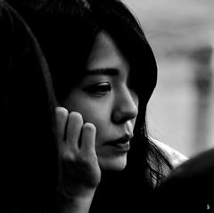 _DSC0741 - Profil (Le To) Tags: nikond5000 noiretblanc nerosubianco bw monochrome portrait ritratto profil femme
