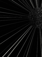 Dark Flower Spider Planet (spratpics) Tags: photographybypaulwalker paulwalker teesside uk blackandwhite artisticphotography monochrome scifi dark flower spider planet darkflower spiderplanet darkflowerspiderplanet