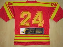 #24 (NNOB) Game Worn Jersey (kirusgamewornjerseys) Tags: 1 liga game worn jersey ice hockey switzerland eishockey ehc zuoz ehczuoz