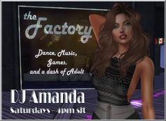 Amanda Factory Saturday Banner (Amanda Keen) Tags: secondlifevirtualworld factory music rock metal 80s 90s 00s contemporary naughty night amandas land confusion