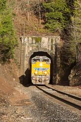 Tunnel 22 (Reed Skyllingstad) Tags: 3945 3961 4443 8796 cascademountains cascadesubdivision color emd electromotivediesel kcs kcs3961 kansascitysouthern mhkrv4 oregon outdoors outside railroad railway sd70ace sd70m sd70mac sunny tracks train tunnel tunnel22 up up3945 up4443 up8796 unionpacific unitedstatesofamerica westfir locomotive