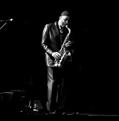 Kenny Garrett. (carlosdeteis.foto) Tags: carlosdeteis galiza galicia blackandwhite blancoynegro brancoenegro jazz kennygarrett