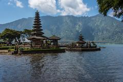 ulun danu beratan temple (Greg M Rohan) Tags: ulundanuberatan ulundanuberatantemple clouds trees tree mountain temple water asia indonesia bali d750 2018 nikon nikkor