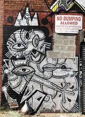 Cubism by Moves HOK (wiredforlego) Tags: graffiti mural streetart urbanart aerosolart publicart brooklyn williamsburg newyork nyc ny