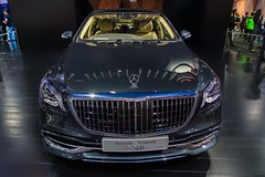 Mercedes-Maybach S560 at the 40th Bangkok International Motor Show at IMPACT Challenger hall in Muang Thong Thani, Nonthaburi (UweBKK (α 77 on )) Tags: mercedes benz maybach s560 luxury car limousine auto automobile 40 40th bangkok international motor show exhibition expo fair impact challenger hall muang thong thani nonthaburi thailand southeast asia sony alpha 77 slt dslr