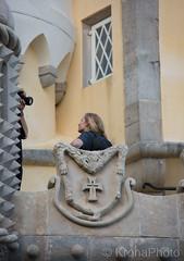 Photoshoot at the castle, Sintra, Portugal (KronaPhoto) Tags: portugal tourism tourist travel attraction castle visitportugal visitsintra slott people shoot photoshoot
