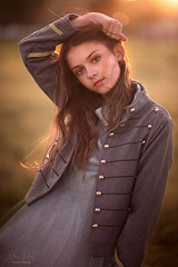 Maddy ({jessica drossin}) Tags: portrait jessicadrossin face girl light teen buttons sun flare hair wwwjessicadrossincom