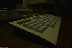 Keyboard of the Commodore 128D (PhotoTJH) Tags: phototjh phototjhnl commodore commodore64 commodore128 commodore128d vintage nostalgie floppy drive 1571 diskette 80s eighties computer homecomputer basic cpm qwerty