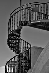 Spiral Staircase (Mick Tursky) Tags: spiralstaircase blackwhite spiral