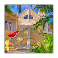 Sugar Bay (Timothy Valentine) Tags: 2018 0418 wednesday caribbean window w palm vacation ourhotel bridgetown christchurch barbados bb