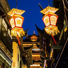 Lanternes (TchinChine !) Tags: chine jardinyu pays shanghai yuyuan 中国 上海 豫园
