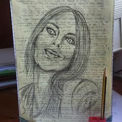 Il volto è lo specchio dell'anima... Dibujos rápidos.  #art  #artlovers #artdaily #artist #sensualidad #artoftheday #artofinstagram #drawing#eyes #woman #painting #draw #pencildrawing#kiss #crayon #artwork #sketch  #instaart  #fotografia #photography  #ar (egc2607) Tags: sketch roma eyes artwork tattoo art guapa fitnessgirl artdaily bw artphoto artlovers artoftheday photography bellezza pencildrawing artist painting kiss sensualidad instaart drawing hairstyle zaragoza fotografia beautifulgirl woman sensuality crayon artofinstagram draw