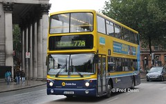 Dublin Bus AV386 (04D20386). (Fred Dean Jnr) Tags: dublinbusyellowbluelivery busathacliath dublinbus rend dublinbusroute77a volvo b7tl alexander alx400 av386 04d20386 dublin collegestreetdublin september2012