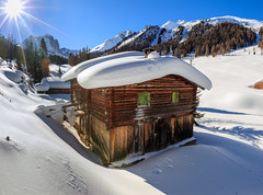 Schneeschutour Filisur - Ela SAC Hütte (bohnengarten) Tags: schweiz swiss switzerland eos 80d alpen alps berge mountain graubünden bündnerland filisur chamona ela cas sac val spadlatscha snow schnee winter