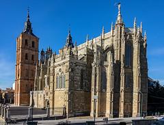 ASTORGA Catedral-Vista posterior (dnieper) Tags: catedraldeastorga astorga león spain españa