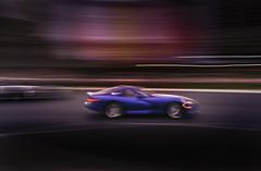 Speed (Julio López Saguar) Tags: segundo juliolópezsaguar coche car automóvil color colour película film lasvegas nevada usa unitedstates estadosunidos strip noche night velocidad speed movimiento motion