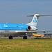 KLM Cityhopper PH-KZE Fokker F70 cn/11576 @ Taxiway Q EHAM / AMS  06-06-2016