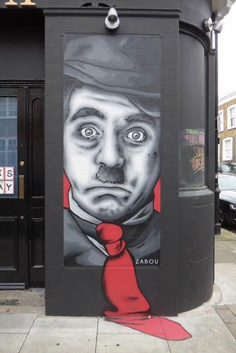 Zabou graffiti, The Bill Murray, Islington