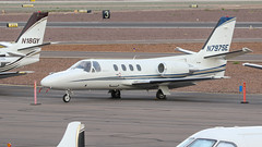 Cessna 501 Citation N797SE (ChrisK48) Tags: kdvt 1980 cessna501 airplane citation phoenixaz aircraft dvt phoenixdeervalleyairport n797se