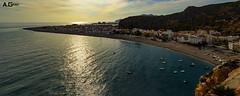 Calahonda (A.Grau) Tags: calahonda pueblo playa mar mediterraneo nikon panoramaica atardecer granada andalucia españa spain