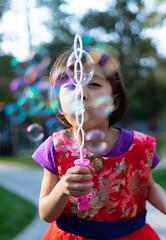 Lots o Bubbles (jfquiring) Tags: bubbles portrait china chengdu family child fun outside day