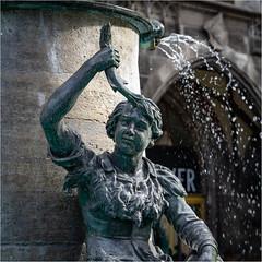 Fischbrunnen in München (Janos Kertesz) Tags: statue sculpture europe architecture landmark building monument art town tourism city historic bronze travel water fischbrunnen münchen munich bavaria bayern brunnen fountain