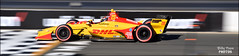 Ryan Hunter-Reay - DHL Andretti Autosport / Honda (billypoonphotos) Tags: indy500 winner firestone indy 500 sears point sonoma grand prix bay area billypoon billypoonphotos bio nikon news photo picture san francisco road course california auto racing race car vehicle sport outdoor d5500 18140 mm 18140mm 2018 indycar slow shutter speed nikkor honda andretti ryan hunter reay autosport dhl yellow red