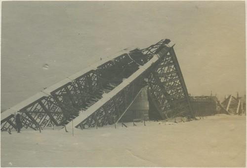 Кременчуг - Железнодорожный мост 1941-1942 004 PAPER2400 [eBay] [Волок А.М.] ©  Alexander Volok