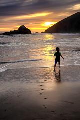 C'è tempo (Gio_guarda_le_stelle) Tags: sunset life 4 i seaside clouds sun son hope bimbo crescere water sea ocean pfeiffer beach play