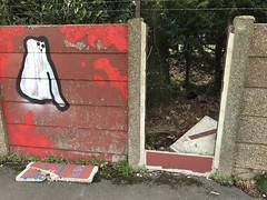 (Steve Bowbrick) Tags: breach concrete graffiti wall london hendon sunnyhillpark