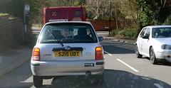 ally (Sam Tait) Tags: nissan micra ally march k11 silver petrol car vw volkswagen golf mk4 1998