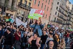 2019_03_15_FridayForFuture Barcelona_Joanna_03 (Fotomovimiento) Tags: barcelon catalunya catalonia cataluña fotomovimiento huelgageneral huelgadeestudiantes strike climatechange climatestrike fridaysforfuture 15m