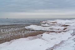 Icy Beach - Lake Superior in Winter, Minnesota (Tony Webster) Tags: duluth lakesuperior minnesota minnesotaavenue northshore beach frozen ice parkpoint snow winter