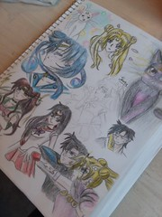 Mostly Finished (jasakhan10) Tags: art drawing sailormoon prismacolors color anime manga fanart