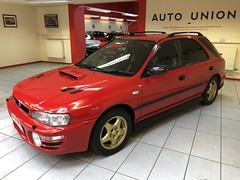 IMG_0341 (deeelux) Tags: red subaru impreza wagon 2000 turbo uk spec 1997 r981gfw