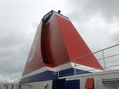 Photo of Funnel of MS Stena Europe